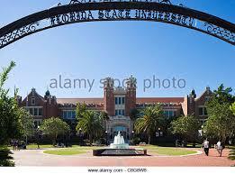 Florida State University Stock Photos  amp  Florida State University     Alamy The Westcott Building and Ruby Diamond Auditorium  Florida State University  Tallahassee  Florida