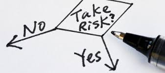 afbeelding tekst yes no risk
