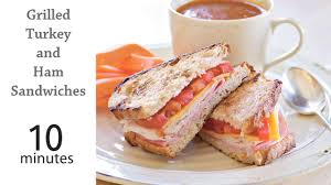 grilled turkey and ham sandwiches recipe myrecipes