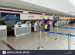 United Airline Baggage by United Airlines Ticket Counter At Bwi International Airport Usa