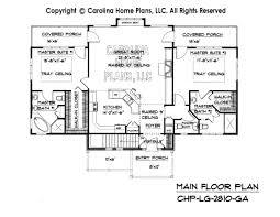 2800 Square Foot House Plans Large Craftsman House Plan Chp Lg 2810 Ga Sq Ft Large Craftsman