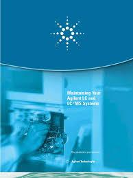 manual de servicio de agilent high performance liquid