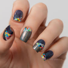 easy 2 color nail designs images nail art designs