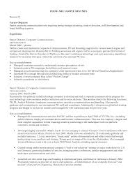 Resume Examples  Career Objective for a Resume  career objective         Resume Examples  Career Objective For A Resume With Experience As Senior Director Or Key Accomplishments