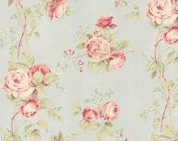 Shabby Chic Pink Wallpaper by Wallpaper Powdered Pink Vintage Inspired Floral Toile