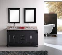 bathroom exciting white bathroom design using white wood single