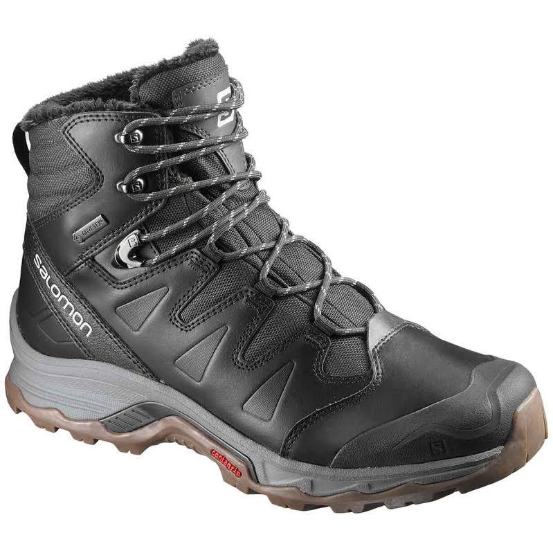 Salomon Quest Winter GTX Backpacking Boot Phantom/Black/Vapor Blue Medium 10 L39854700-10