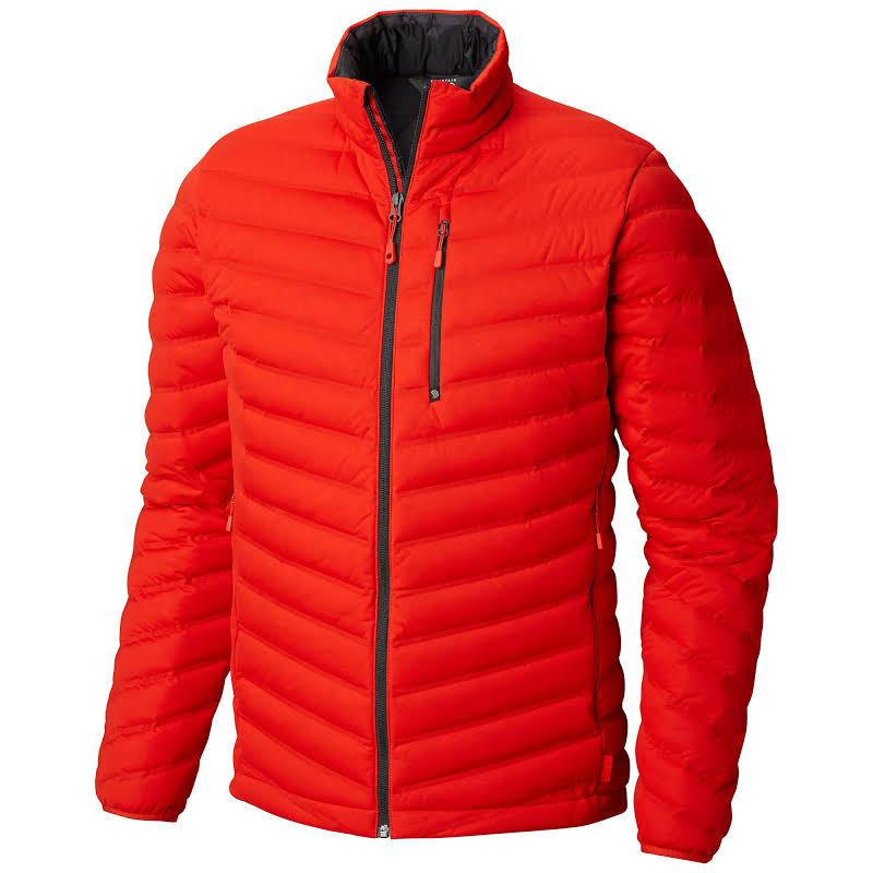 Mountain Hardwear Stretchdown Jacket Fiery Red Small 1855601636-S