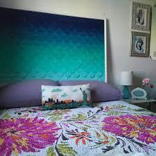 Teal And Purple Bedroom by Best 25 Teal Headboard Ideas On Pinterest Wallpaper Headboard