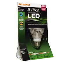 Outdoor Cfl Flood Lights Shop Sylvania 50 Watt Equivalent Indoor Outdoor Led Flood Light