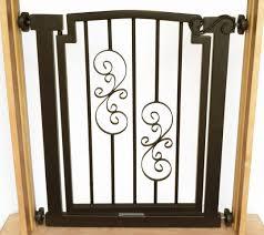 Pressure Mounted Baby Gate Noblesse Dog Door Gate Doorway U0026 Hallway