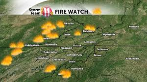 West Tennessee Map by Smoke Continues Across The Region Tonight As Wildfires Continue To