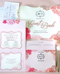 floral wedding invitation by signature design bridestory com