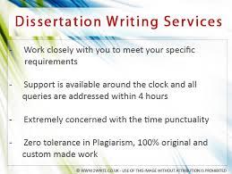 Writing service database