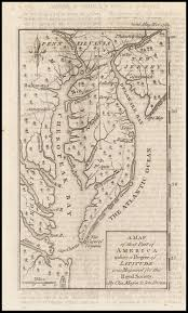 A Map Of America by A Map Of That Part Of America Where A Degree Of Latitude Was
