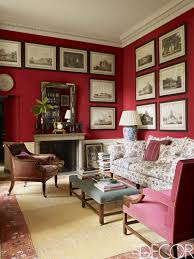 rooms with red walls red bedroom and living room ideas