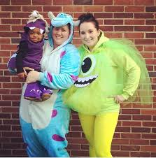 Monsters Baby Halloween Costumes Family Couple Halloween Inspiration Mommies
