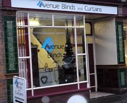 avenue blinds and curtains showroom in bridgwater somerset