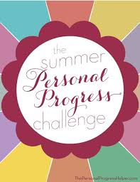 The Summer Personal Progress Challenge Study Packet  amp  Prompts