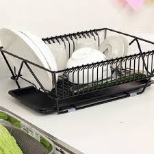 Plastic Dish Drying Rack Vintage Kitchen Decor With Cheap Metal Dish Drying Tableware