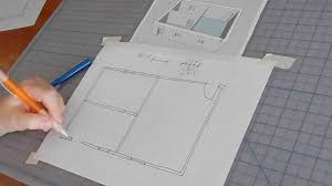 How To Create Your Own Floor Plan by How To Sketch A Floor Plan Youtube