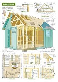 Diy Garden Shed Plans Free by 31 Best Shed Plans Images On Pinterest Garden Sheds Sheds And