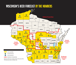 Wisconsin Map With Counties by 2015 Trophy Deer Forecast Wisconsin Game U0026 Fish