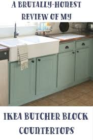 Reviews Ikea Kitchen Cabinets A Brutally Honest Review Of Ikea Butcher Block Countertops Our