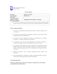 Cook Resume Sample Pdf Chef Helper Resume