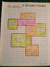 Home Design Graph Paper by All Things Upper Elementary Dream House An Additive Area Project
