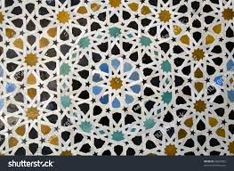 moroccan style ceramic mosaic best morocco stock photo 56687833