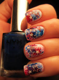 jessica u0027s nail art happy 4th of july