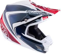 white motocross helmets troy lee designs 7850 troy lee designs se3 neptune red white blue