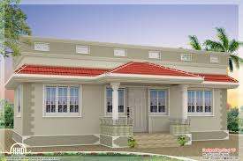 Single Story House Styles Style Single Floor Bedroom Home Kerala Design Plans Building