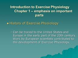 Anatomy And Physiology Chapter 1 Review Answers History Of Exercise Physiology Chapter 1 Introduction To Exercise
