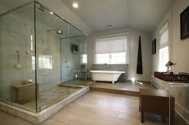 Modern Walnut Bathroom Vanity by Modern Master Bathroom Designs Pictures Walnut Finish Vanity