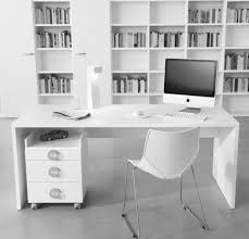 Decorate A Home Office Lovable White Office Decorating Ideas Home Office Office Desk
