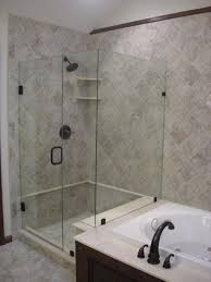 Bath And Shower In Small Bathroom Open Shower Concept Amazing Bathroom Showers Designs Walk In