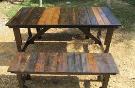 Building Plans For Picnic Table Bench by Folding Picnic Table Plans 2 In 1 Seat And Picnic Table Made By