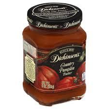 dickinson u0027s country pumpkin butter shop peanut butter and jelly