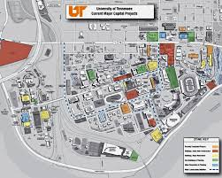 Neyland Stadium Map Facilities Services The University Of Tennessee Knoxville