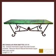 dining tables copper top table diy wax for copper table water