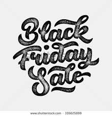 black friday artwork black friday sale handmade lettering 3d stock vector 340057385