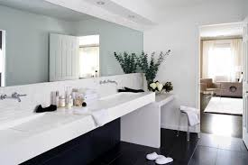 Pink Tile Bathroom Ideas Colors White Pink Colors Wooden Vanity Wall Mirror Modern Glass Shower