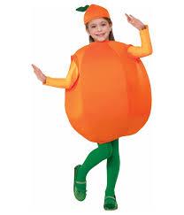 sweet orange kids fruit costume food costumes