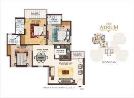 Servant Quarters Floor Plans Ramprastha Atrium Resale Price Ramprastha Atrium Gurgaon 2 3 Bhk