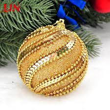 pendant 8cm golden decorative christmas high grade foam decoration