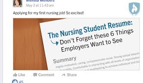 Student Resumes For First Job by The Nursing Student Resume Don U0027t Forget These 6 Things Employers