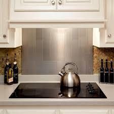 Wall Tiles Kitchen Backsplash by Kitchen Backsplash Stainless Steel Wall Tile Trim Steel Tile