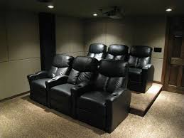 home theater seating san diego all work and all play home theater movie room ideas
